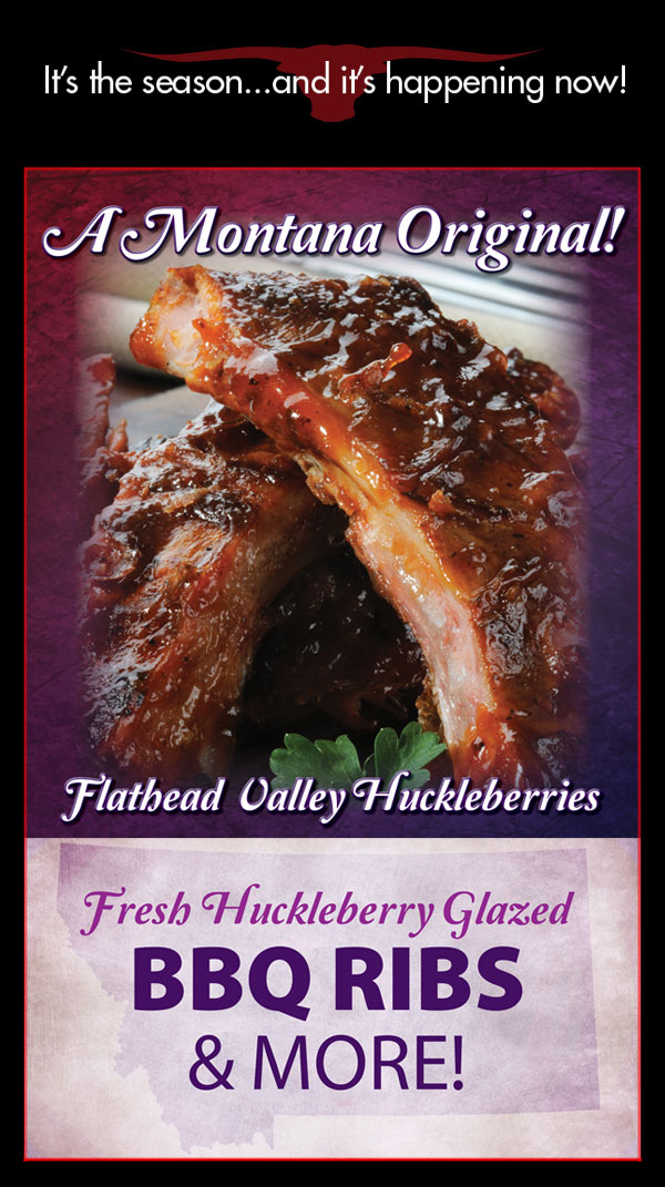 Jakes - Montana Original - Flathead Valley Huckleberry Glazed Ribs and More