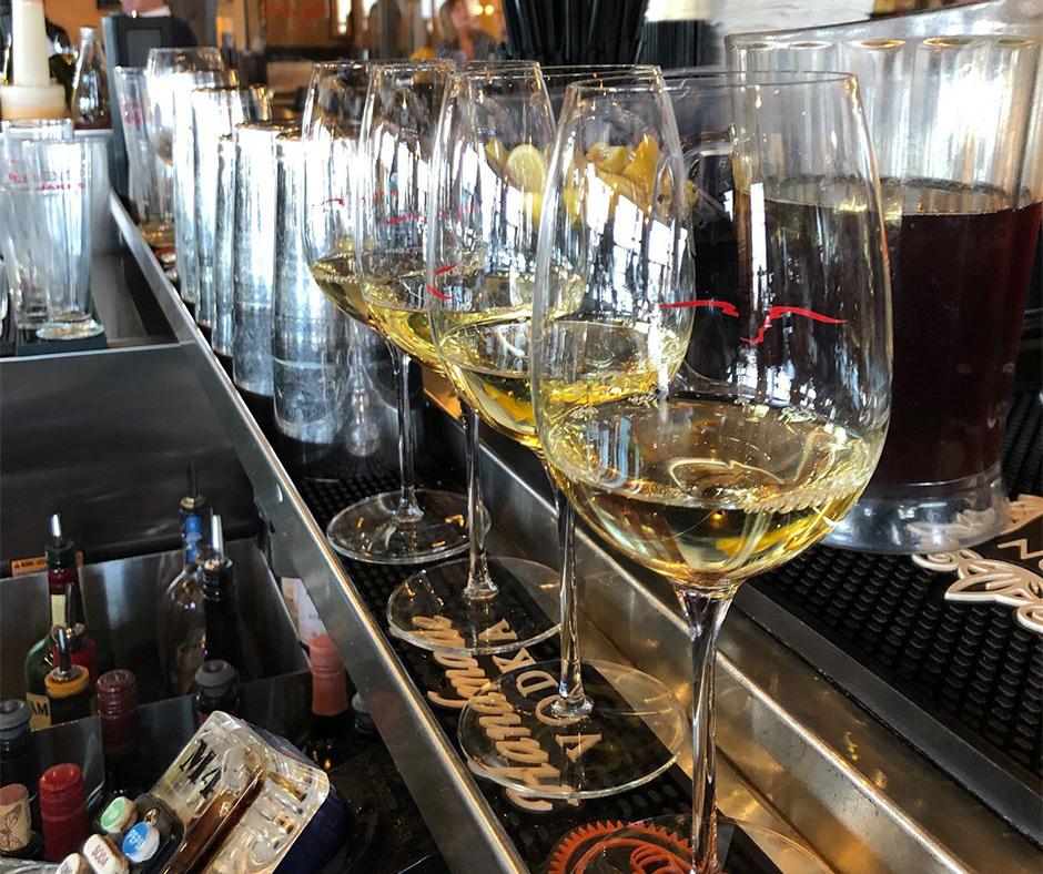 Happy Hour Wine Glasses